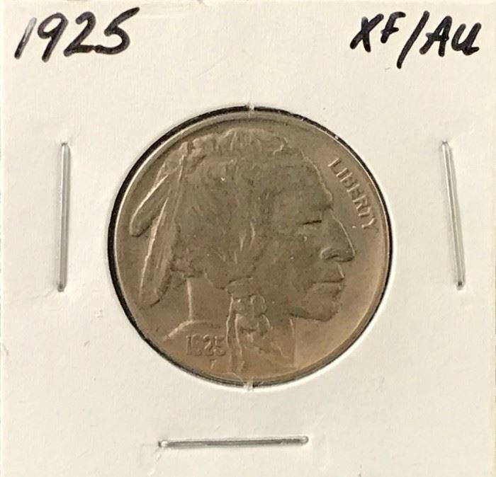 Buffalo Nickel, 1925
