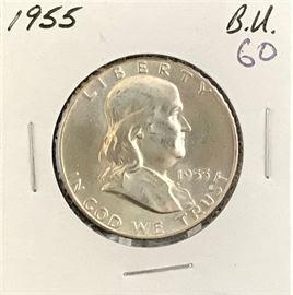 Franklin Half Dollar, 1955