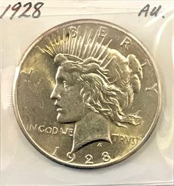 Peace Dollar, 1928