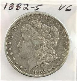 Morgan Dollar, 1882-S