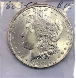 Morgan Dollar, 1883 Carson City