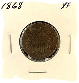 2 Cent, 1868