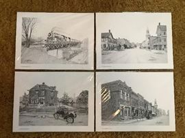 Vintage Elmore, Ohio Drawings