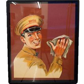 1950's Shell Oil Poster