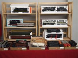 Variety of Model Trains
