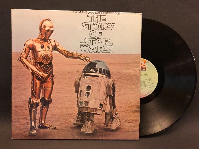 Vintage LP The Story of Star Wars record album