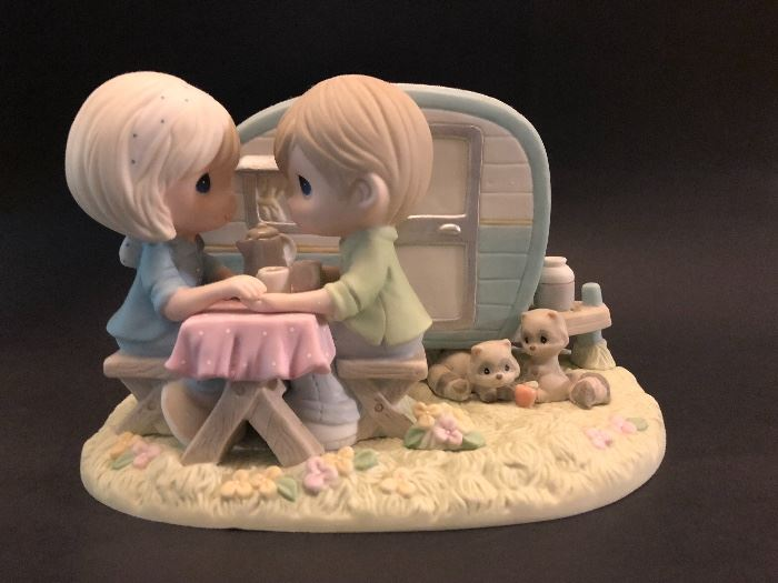 I'm a happy camper when I am with you Precious Moments figurine, # 920 out of 3,000