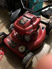 Toro gas push mower