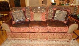 Jeff Zimmerman sofa purchased at Louis Shanks