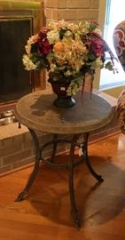 Stingray finish accent table - from Stowers Furniture