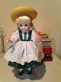 Heidi Porcelain Doll
