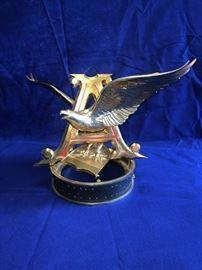 Golden Eagle Anheuser Busch Ceiling Hanger
