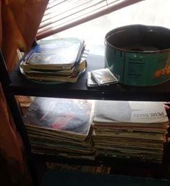 Vinyl Records LP and 45s