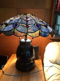 """""""Tiffany-style"""" lamp"""