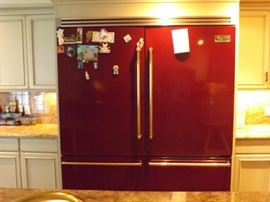 "2 Professional Series 36"" Bottom Drawer Refrigerators, Left & Right Doors. 20.3 Cubic Feet."