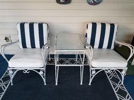 Antique Wrought Iron Patio Furniture