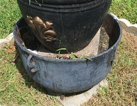 Large Cane Wrought Iron Pot: Antique FN7002  https://www.ebay.com/itm/113236713656