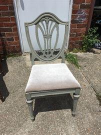 Distressed Duncan Phyfe Chair DB8007 Local Pickup  https://www.ebay.com/itm/123361849728