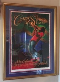 2012 New Orleans Jazz and Heritage Festival Congo Square Poster Framed Jazz In T  https://www.ebay.com/itm/123361858372