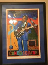 2016 New Orleans Jazz and Heritage Festival Congo Square Poster Framed The Thril  https://www.ebay.com/itm/123361865141
