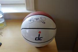 Bradley Beal autographed Basketball