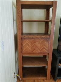 """Solid Oak Shelves  33""""x20""""x76"""".  There are 2, but will sell individually.  Shelf #1."""