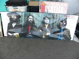 Beatles Landscape Poster