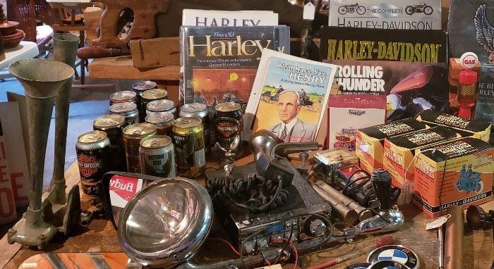 Misc. Harley Davidson items