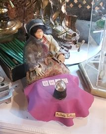 1960's Fortune Teller Parcraft doll by Parthenia Fitch, Wisconsin
