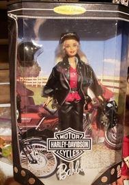 Vintage Harley Barbies (set of 4 new in box)