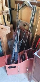 Misc. Air Rifles, Ice Fishing Sled, Fishing Rods, Hunting Tree Stand