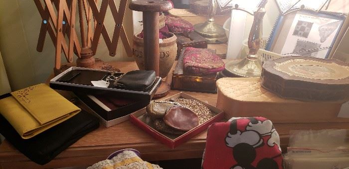 Vintage purses, coin purses and wallets