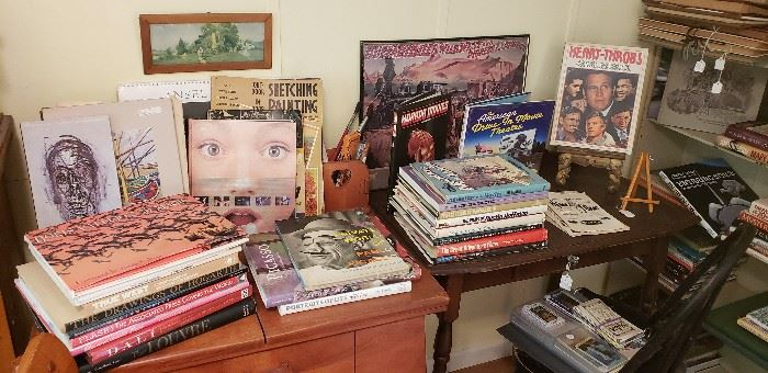 100's of books, all types