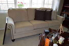 Sofa, Pillows & Home Decor
