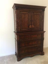 Dresser and Media cabinet