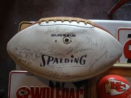 Chiefs Super Bowl Autographs
