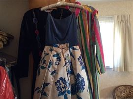 TONS VINTAGE CLOTHING, SHOES, GOWNS