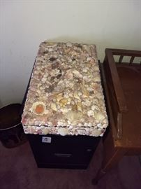 Sea Shell Covered Box