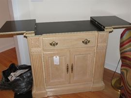NICE FOLD OUT SERVER AVAILABLE FOR EARLY SALE.  $150.00.