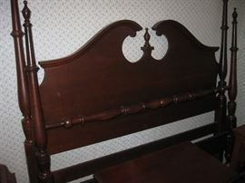 Durham Brand Queen Size Headboard and Footboard