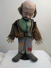 Emmett Kelly's Willie the Clown https://ctbids.com/#!/description/share/46768