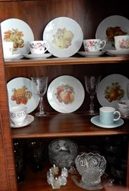 LOTS OF NICE PIECES FOR YOUR CUPBOARDS