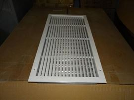 3 Pallets of Various Size Wall Registers