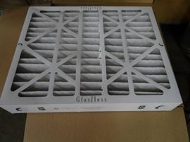Glasfloss Air System Filters 2 cases