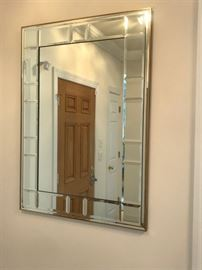 Beautiful Paneled Mirror