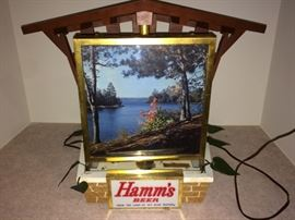 Rotating Hamm's clock