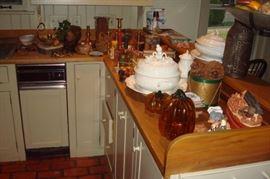 Misc kitchen items.
