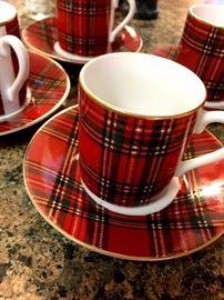 The Cutest Little Tartan Tea Cups EVAR!...