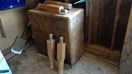 Vintage Butcher's Block