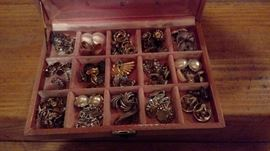 Some of the collectible costume jewelry available.